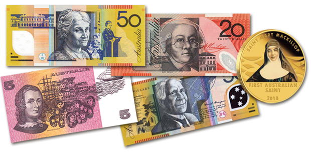 Images of Australian Currency